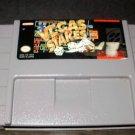 VEGAS STAKES - SNES Super Nintendo