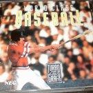 World Class Baseball - Turbo Grafx 16 - Complete CIB