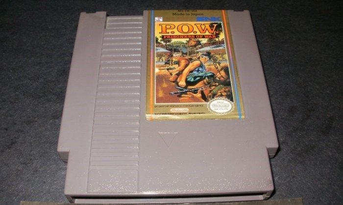 P.O.W. Prisoners of War - Nintendo NES