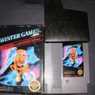 Winter Games - Nintendo NES - With Box & Cartridge Sleeve