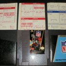NFL Football - Nintendo NES - With Manual and Protective Sleeve