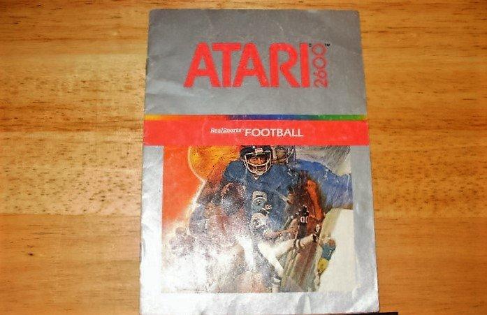 Real Sports Football - Atari 2600 Manual