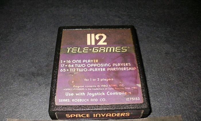 Space Invaders - Sears Tele-Games Version - Atari 2600