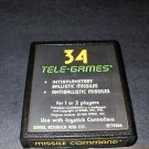 Missile Command - Tele-Games Version - Atari 2600