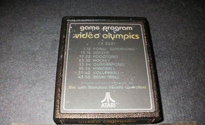 Video Olympics - Atari 2600 - No Artwork Label