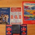 Triple Action - Mattel Intellivision - Complete CIB