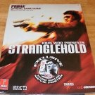 Stranglehold Strategy Guide - Brand New Factroy Sealed