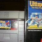 Ultima The False Prophet - SNES Super Nintendo - With Manual