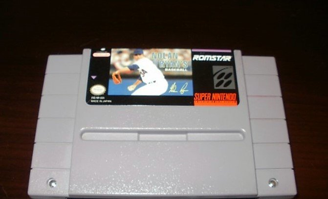 Nolan Ryan's Baseball - SNES Super Nintendo