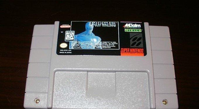 Rise Of The Robots - SNES Super Nintendo