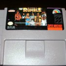 WWF Royal Rumble - SNES Super Nintendo