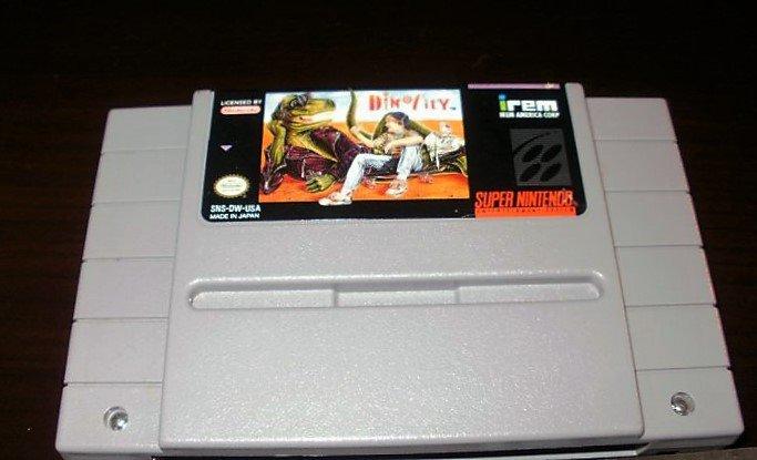 Dino City - SNES Super Nintendo
