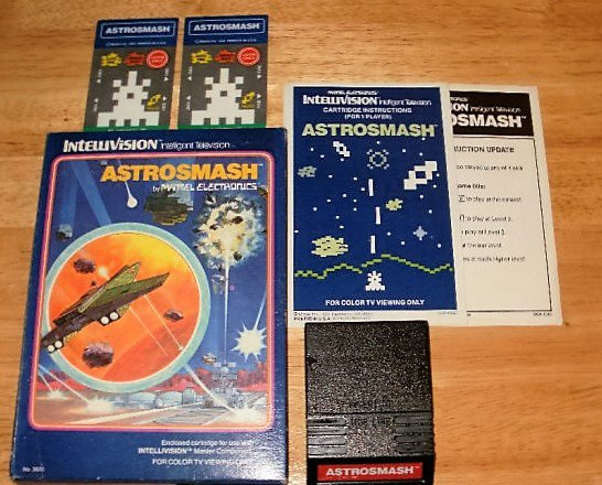 Astrosmash - Mattel Intellivision - Complete CIB