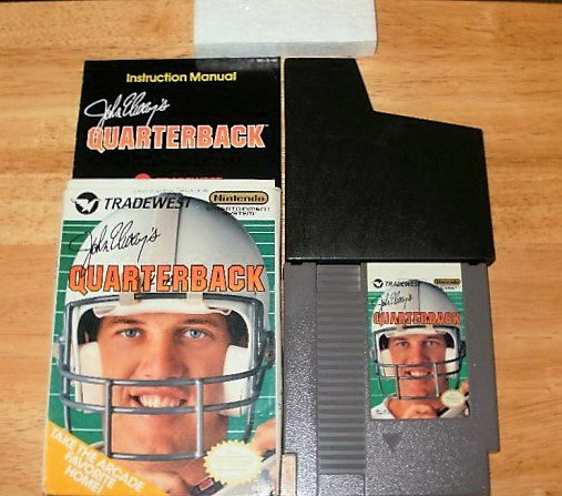 John Elway's Quaterback - Nintendo NES - Complete CIB