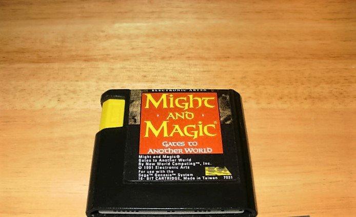 Might and Magic - Sega Genesis