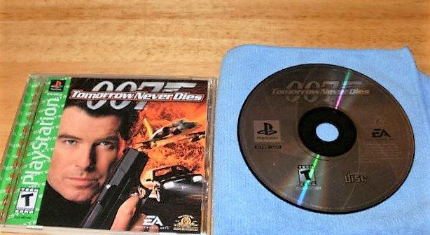 007 Tomorrow Never Dies - Sony PS1 - Complete CIB