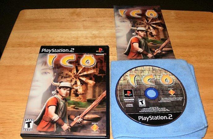 Ico - Sony PS2 - Complete CIB - Black Label Original Release