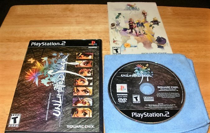 Unlimited Saga - Sony Playstation 2 - Complete CIB