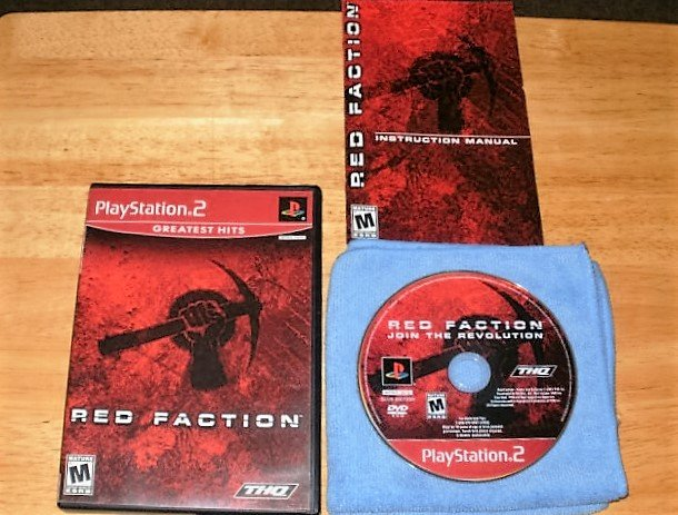 Red Faction - Sony Playstation 2 -  Complete CIB