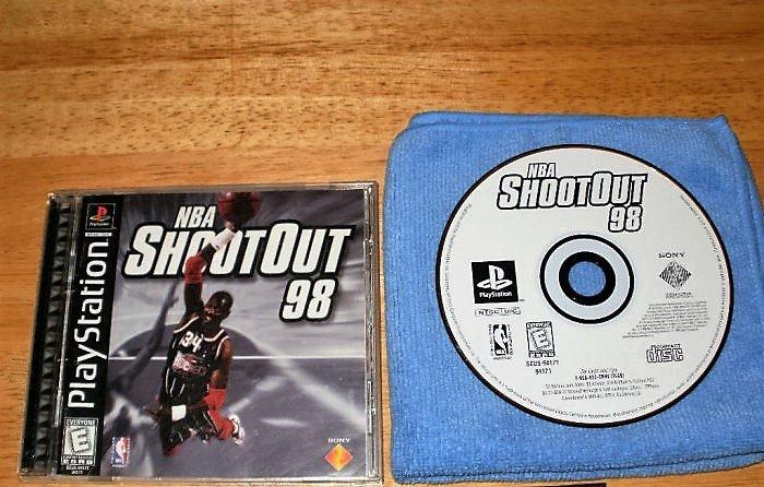 NBA Shootout 98 - PlayStation PS1 - Complete CIB
