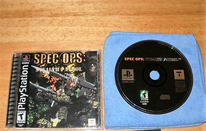 Spec Ops Stealth Patrol - PlayStation PS1 -  Complete CIB