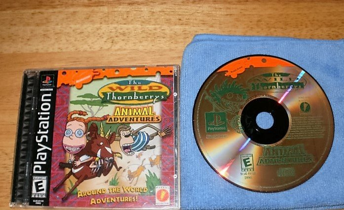 The Wild Thornberrys - PlayStation PS1 -  Complete CIB