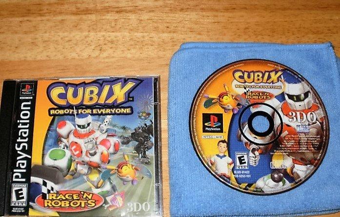 Cubix - PlayStation PS1 - Complete