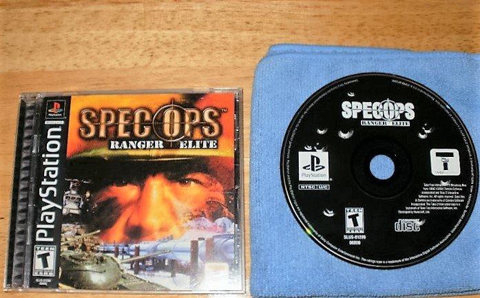 Spec Ops Ranger Elite - PlayStation PS1 -  Complete CIB