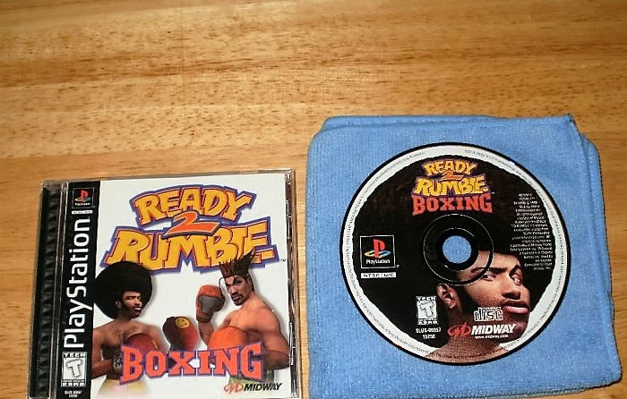 Ready 2 Rumble Boxing - PlayStation PS1 -  Complete CIB