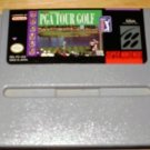 PGA Tour Golf - SNES Super Nintendo
