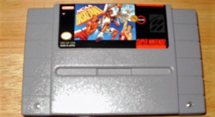 NCAA Basketball - SNES Super Nintendo
