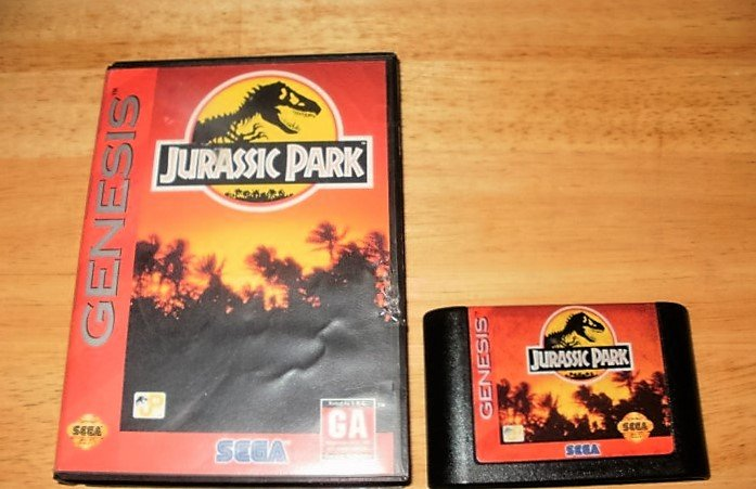 Jurassic Park - Sega Genesis - With Box