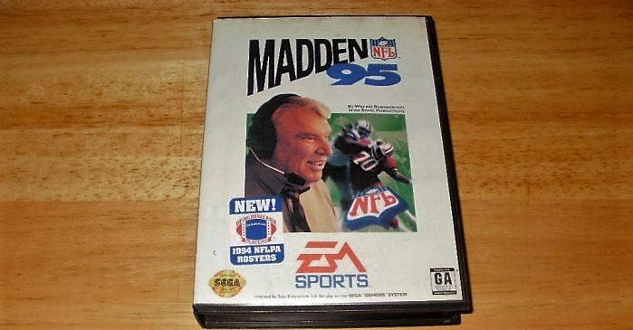 Madden 95 - Sega Genesis - Box Only