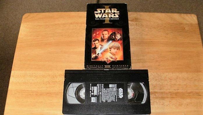 Star Wars The Phantom Menace - VHS Movie