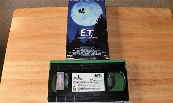 E.T. The Extra-Terrestrial - VHS Movie