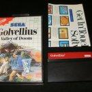 Golvellius Valley of Doom - Sega Master System - With Box