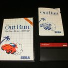 Out Run - Sega Master System - Complete CIB