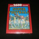 Super Football - Atari 2600 - Brand New Factory Sealed
