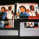 Lethal Weapon - SNES Super Nintendo - Complete CIB
