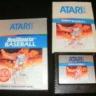 RealSports Baseball - Atari 5200 - Complete CIB