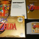 Legend of Zelda Ocarina of Time - N64 Nintendo - Complete CIB