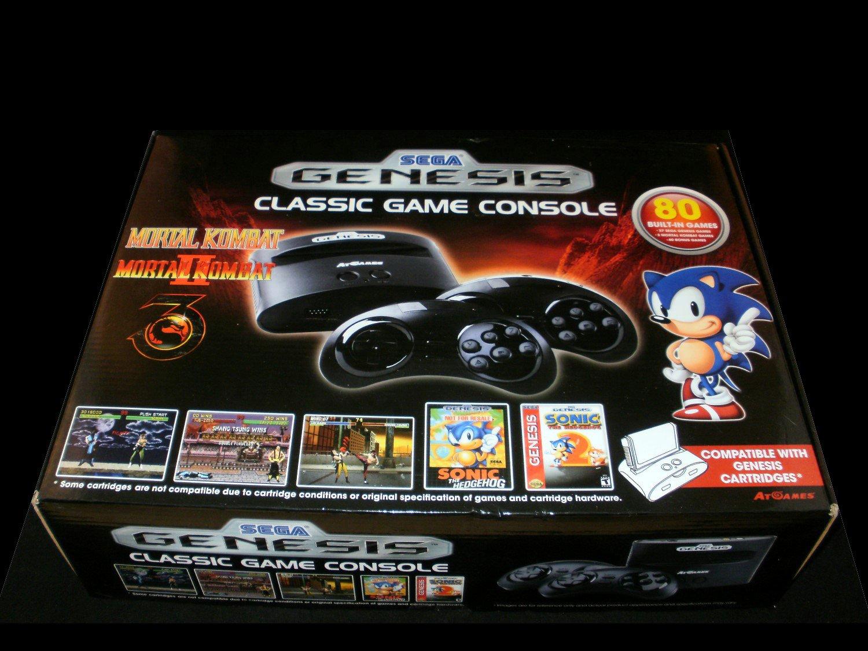 Sega genesis classic game console 2015 atgames new - Atgames sega genesis classic game console game list ...