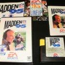Madden NFL 95 - Sega Genesis - Complete CIB