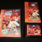 NFL Football 94 Starring Joe Montana - Sega Genesis - Complete CIB