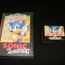 Sonic the Hedgehog - Sega Genesis - With Box - Not For Resale Version