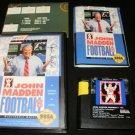 John Madden Football 93 - Sega Genesis - Complete CIB
