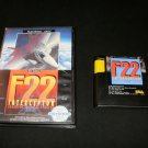 F-22 Interceptor - Sega Genesis - With Box