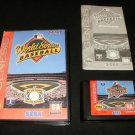 World Series Baseball - Sega Genesis - Complete CIB