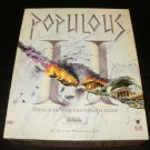 Populous II - 1991 Blizzard - IBM PC - Complete CIB