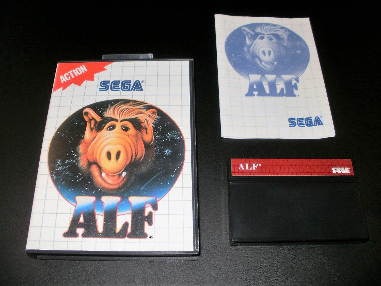 Alf - Sega Master System - Complete CIB - Rare